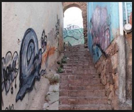 Graffiti in the city of Guanajuato (Photo: oem.com.mx)