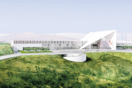 New Guanajuato congress building. (PHOTO: contrapunto.com)