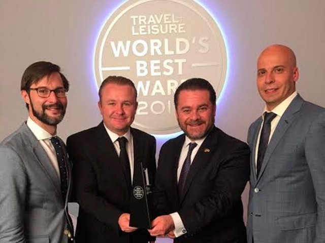 During World`s Best Awards Event, SMA was recognized as the best destination in Latin American (photo: http://periodicocorreo.com.mx/)