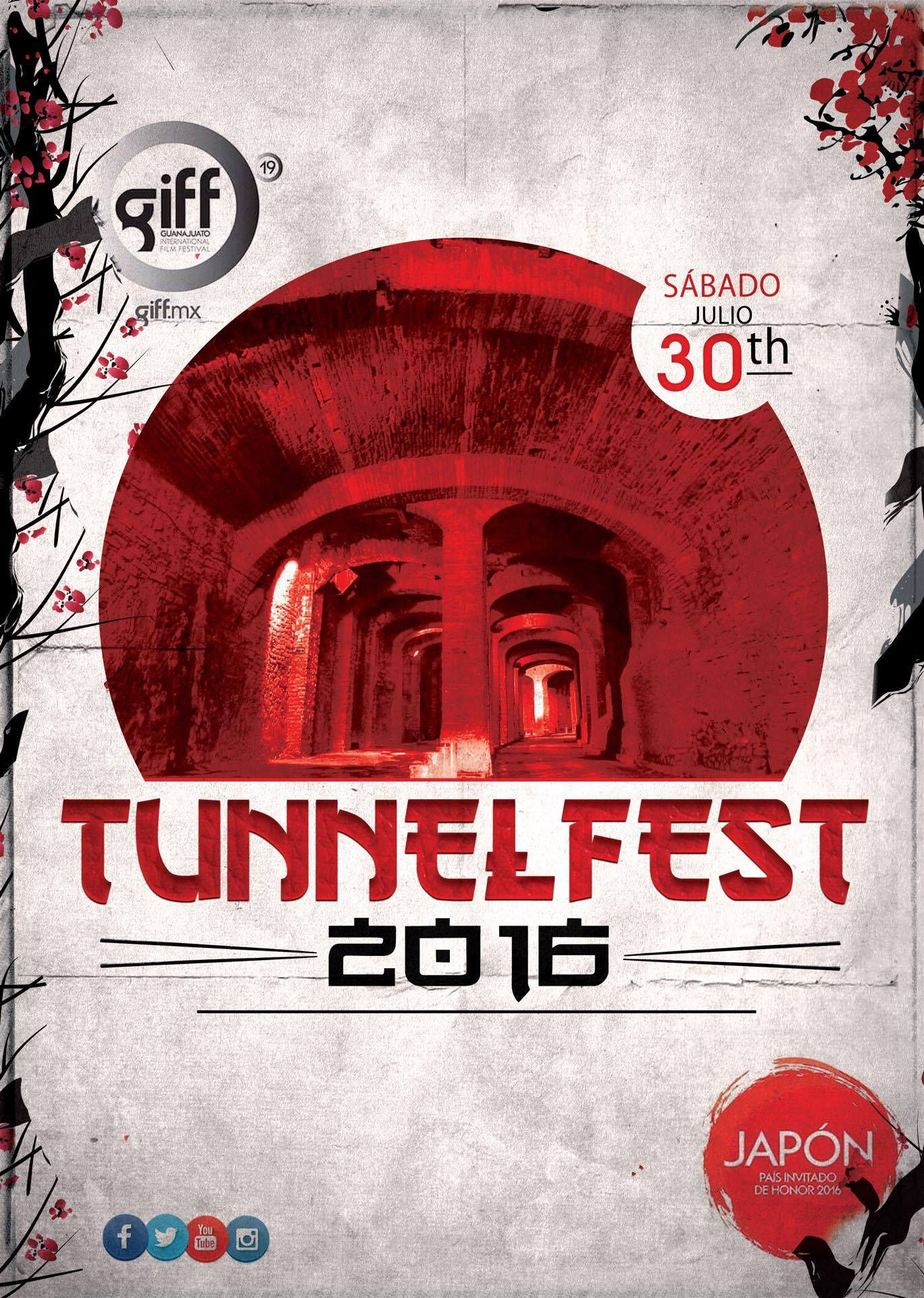 Official poster of Tunnel Fest 2016 (photo: google.com)