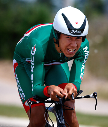 The Leones cyclist Ignacio Prado (Image: Google)
