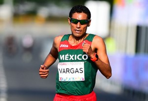 Daniel Vargas is a Mexican (Leon, Gto) long-distance runner.