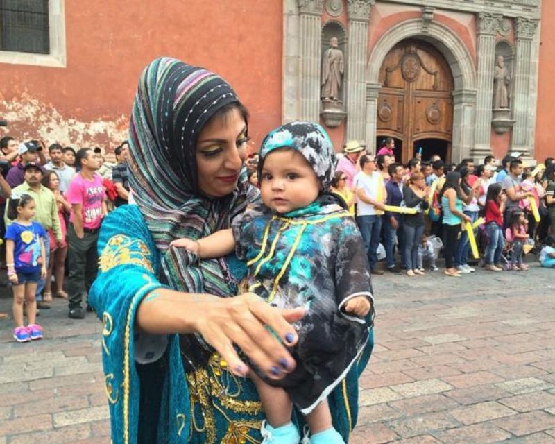 60730054. Querétaro, 30 Jul. 2016 (Notimex-Especial).- La ciudad de Querétaro ha mostrado su vocación fraternal y amistosa, a través de casi una década del Festival de Comunidades Extranjeras, que muestra además la cultura de quienes han decidido emigrar de otros países. NOTIMEX/FOTO/ESPECIAL/COR/HUM/