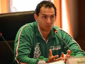 Jorge Luis Quiñones Jazo (Leon Gto), is a part of Mexico's Volleyball team. (Image: Google).