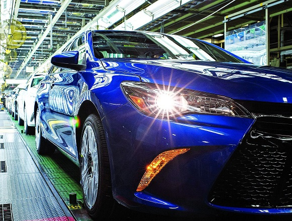Production of the Camry will help Toyota figure out the logistics of the new system. (Photo: autonews.com)