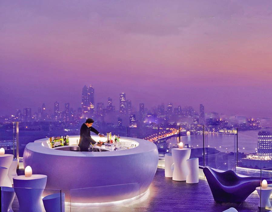 Aer Lounge at the Four Seasons hotel, Mumbai, India (Photo: express.co.uk)