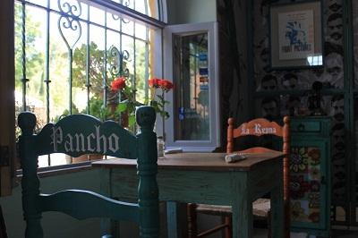 Mismatched furniture (Photo: Cafe Rama)