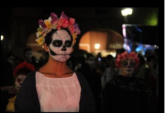 Sixth Annual Traditional Catrinas's Parade in Celaya (Photo: Union Guanajuato)