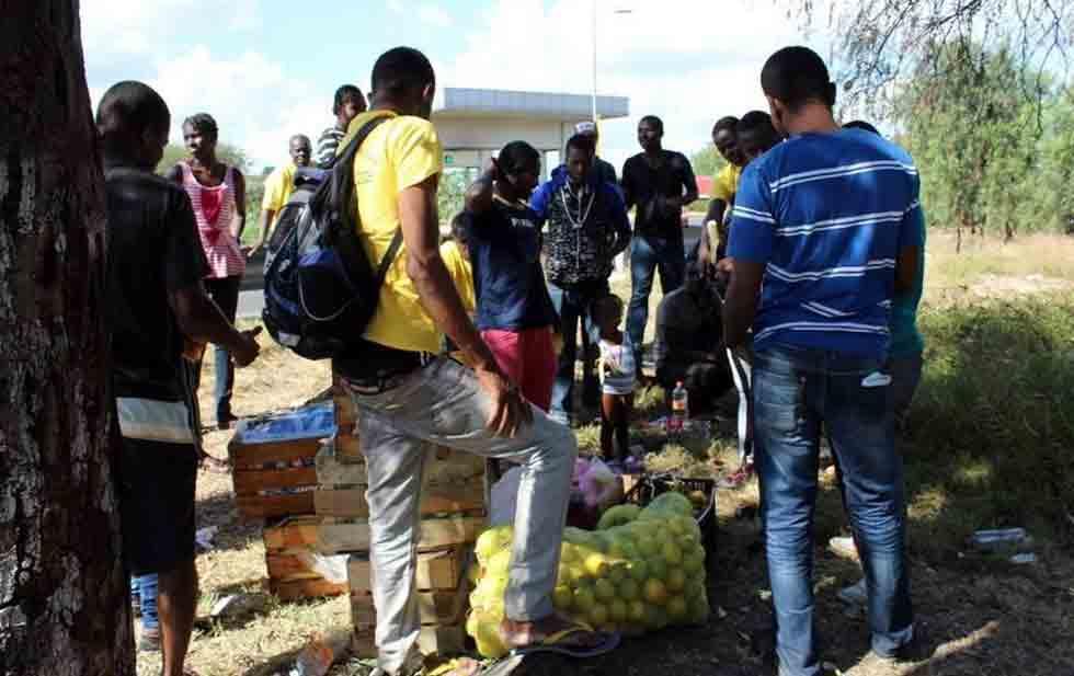 African migrants stranded in Guanajuato (Photo: diario.mx)