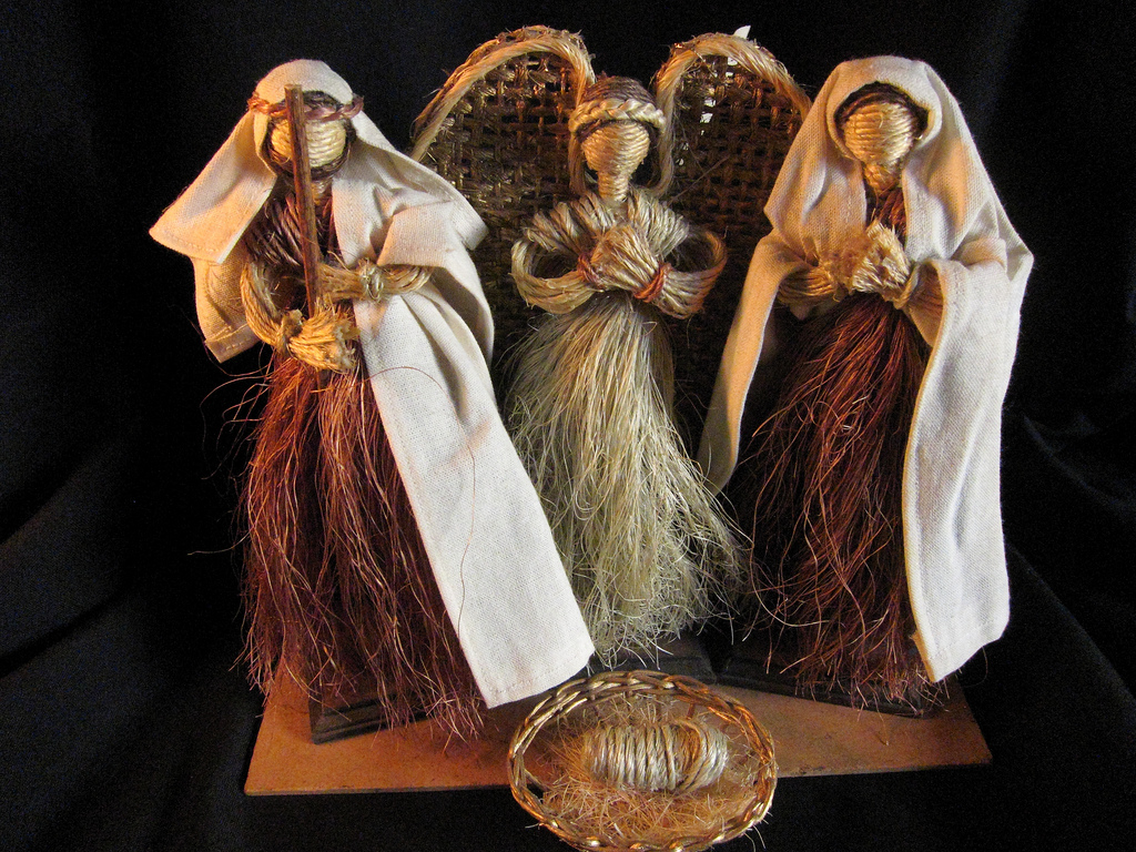 Ixtle Nativity made in Mexico (Photo: Flickr)