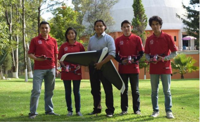 QuetzalCuauhtli Air-Robotics team (Photo: El Universal)