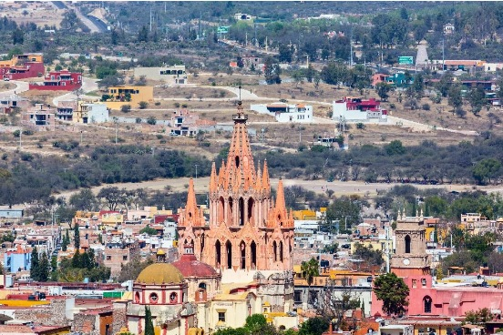 San Miguel de Allende is a well preserved Colonial city and UNESCO World Heritage Site. Shutterstock