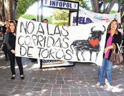 bullfight_demonstrators_celaya