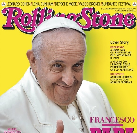 pope francis on RS