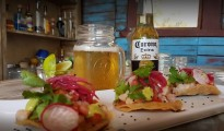 Shrimp tostadas at La Canica (Photo: Google Plus)