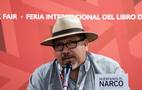 Mexican journalist Javier Valdez, pictured in 2016, was shot near the premises of one of the Mexican news outlets he worked for in the city of Culiacan Mexican journalist Javier Valdez, pictured in 2016, was shot near the premises of one of the Mexican news outlets he worked for in the city of Culiacan (AFP Photo/HECTOR GUERRERO)