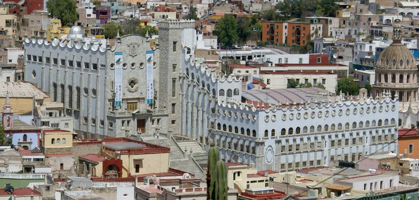 Historic building of the University of Guanajuato (Photo: Google)