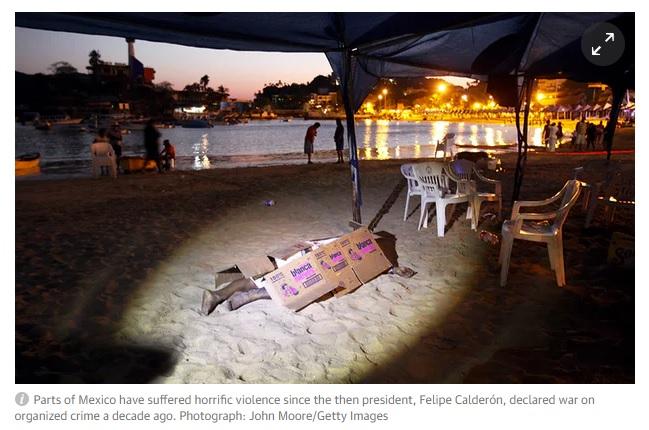 beach corpse