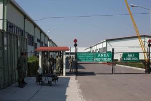Santa Lucía, Estado de México militar facility. (Photo: Daniele Giacometti/VICE News)