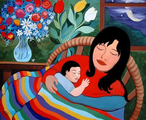La madre | Pintura y Artistas