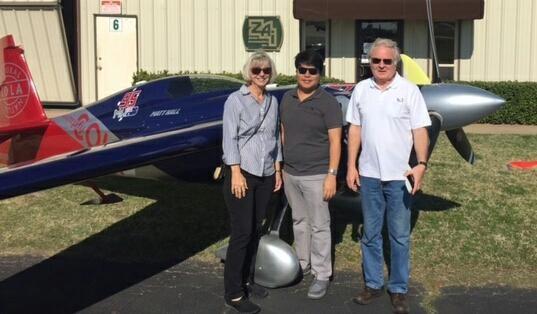 Judy Zivco, Jaime Brena, and Bill Zivco
