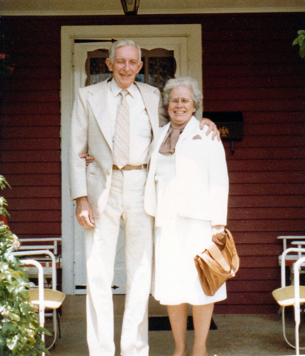 John & Phyllis in white