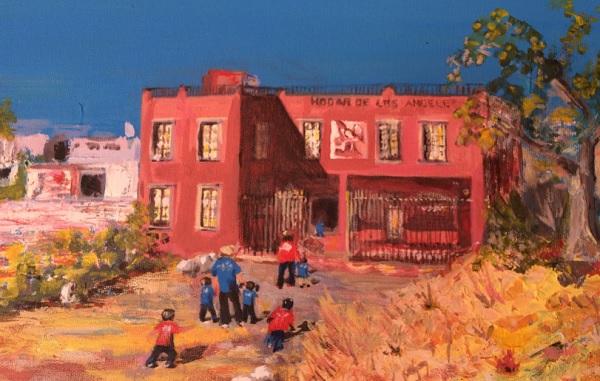 Casa de Los Angeles Illustration (Google)
