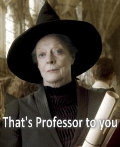 old english professor