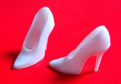 lb white barbie shoe