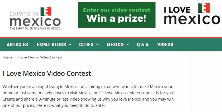 I love exico expat video contest