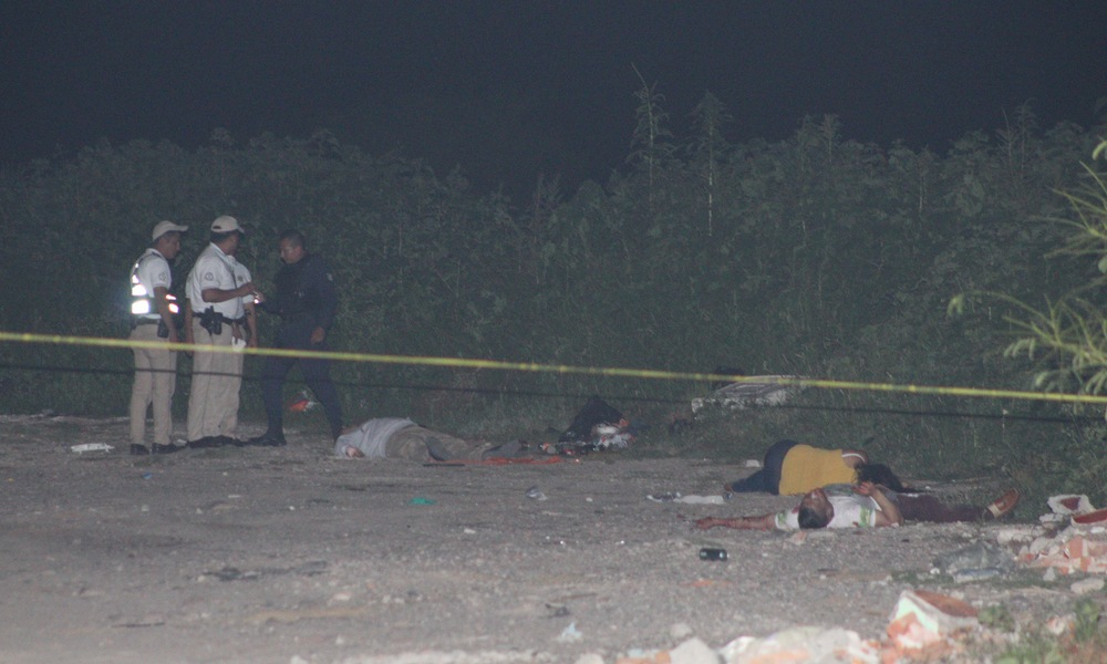 Dead bodies found in Jardines de Jerez, León, Gto. (Photo: AM)