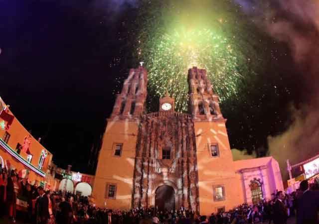 El Grito en Dolores Hidalgo, Guanajuato (Photo: Google)