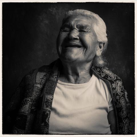 Gunther laughing (Photo: Carlos G. Maier)