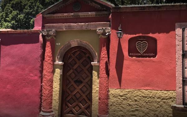 posada corazon entrance