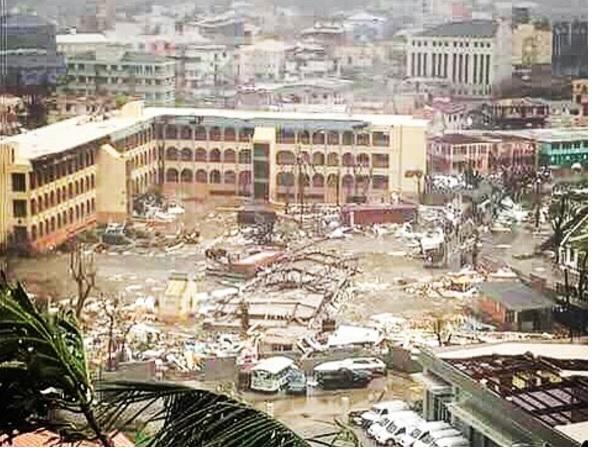 Irma's aftermath at the Virgin Islands (Photo: Yahoo News)
