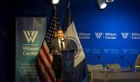 Ambassador Gerónimo Gutiérrez speaking at the 2017 North America Energy Forum, Wilson Center