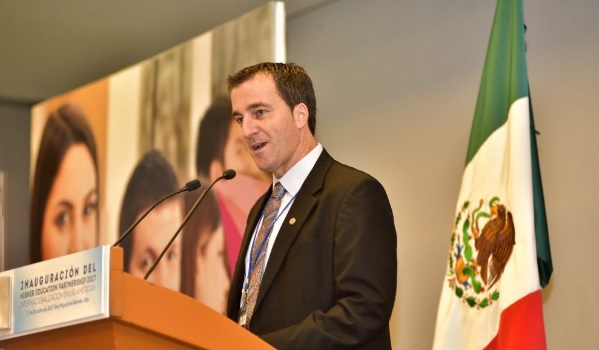 John McPhill, President and CEO of Partners of the Americas (Photo: guanajuato.gob.mx)