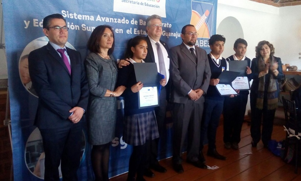 Guanajuato students to attend robotics competition in China (Photo AM)