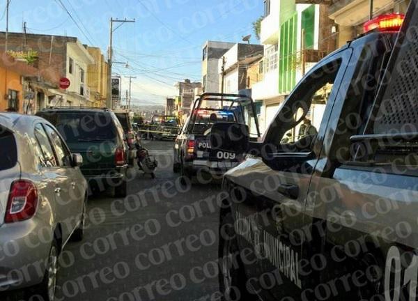 Korean businessman shot in Moroleon, Gto. (Photo: Periodico Correo)