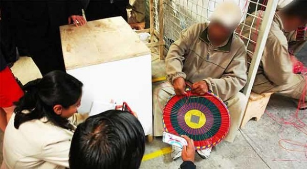 SMA prison facility inmate manufacturing handcrafts (Photo: SIPSE)