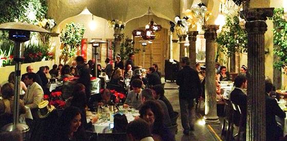 the restaurant SMA