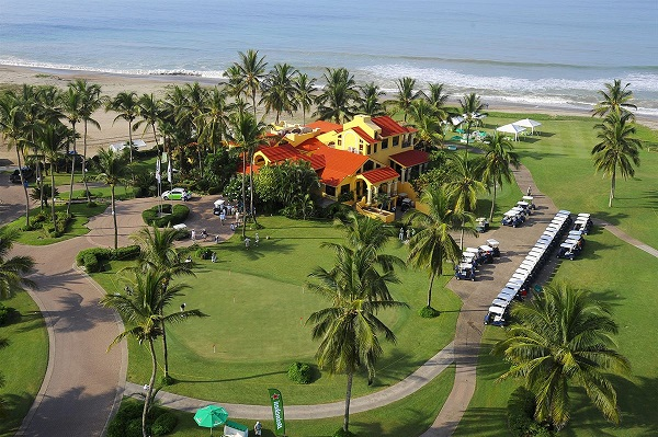-Aerial View of Estrella Del Mar Golf Casa Club in Mazatlan Mexico