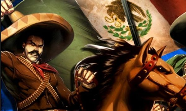 """Though Francisco I. Madero started the Revolution, the most colorful revolutionary leaders were Pancho Villa, the """"Centaur of the North,"""" and Emiliano Zapata, leader of the """"Liberation Army of the South."""""""