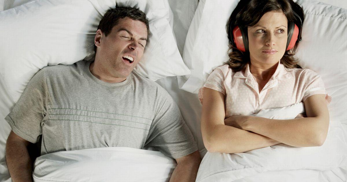 Man-snoring
