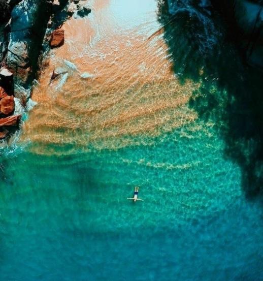Aerial view of Colomitos (Instagram)