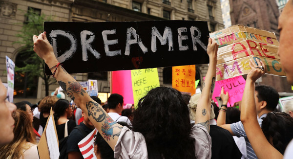 Dreamers have enjoyed protection from deportation and the freedom to study and work under a program started by former President Barack Obama in 2012.(Photo: Politico)
