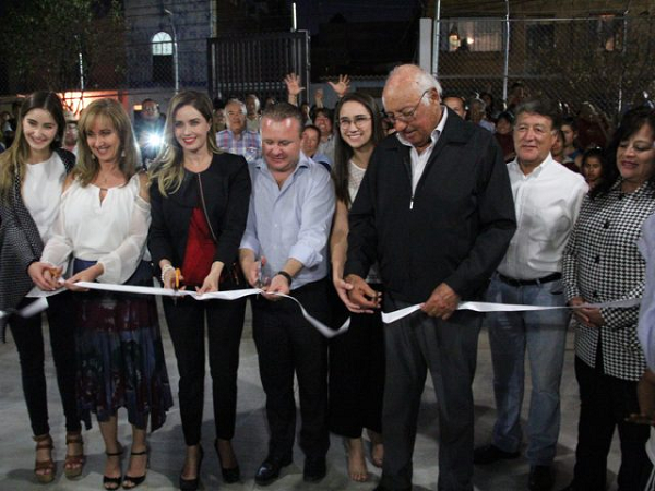 A new cultural center came to this municipality in the colony Palmita de Landeta managed by the federal deputy, Azul Etcheverry. (Photo: periodicocorreo.com.mx)