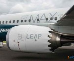 Boeing 737MAX and a LEAP engine: Mexican-made parts. (Photo: Bangalore)