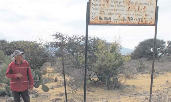 The destruction and robberies in this area protected by the National Institute of Anthropology and History (INAH) have been a constant for about 10 years. (Photo: am.com.mx)
