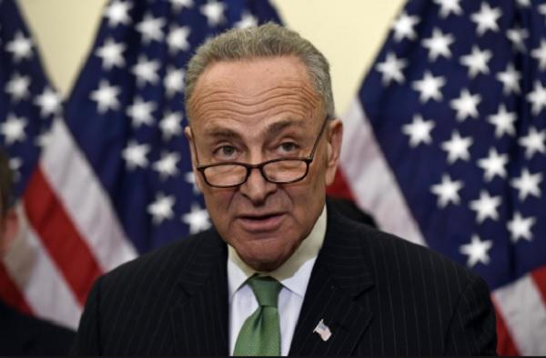Democratic Senate leader Chuck Schumer (archive)
